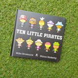 TEN LITTLE PIRATES (BOARDBOOK)