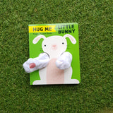 FINGER PUPPET BOOK: HUG ME LITTLE BUNNY