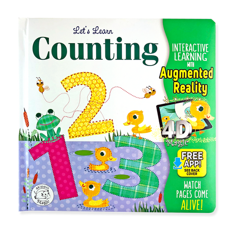 Come-to-Life™ Books: LET'S LEARN-COUNTING 123s