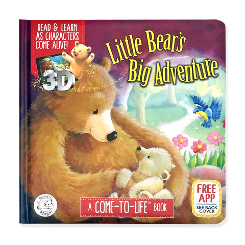 Come-to-Life™ Books: LITTLE BEAR'S BIG ADVENTURE