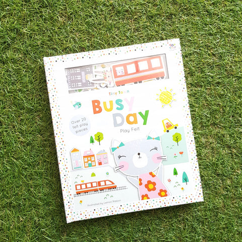 TINY TOWN: BUSY DAY (play felts)