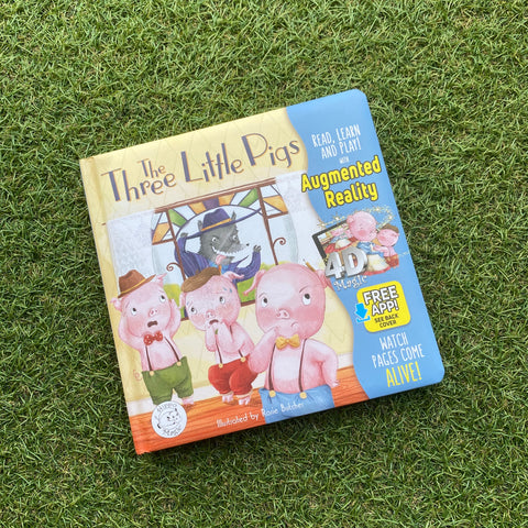 Come-to-Life™ Books: THREE LITTLE PIGS