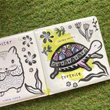 WEE GALLERY BATH BOOK: WHO LOVES PETS?