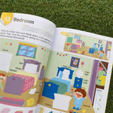 KUMON: VOCABULARY  STICKER BOOKS - AT HOME