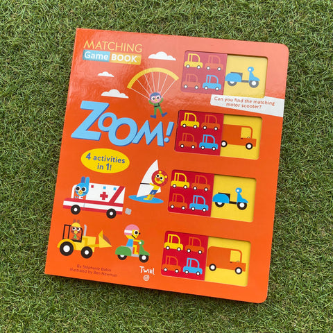 MATCHING GAMEBOOK: ZOOM!