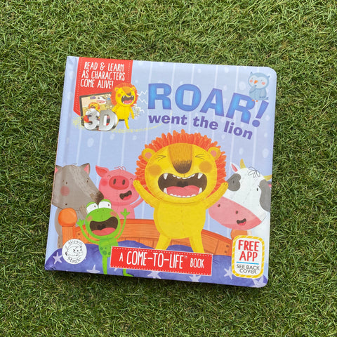 Come-to-Life™ Books: ROAR! WENT THE LION
