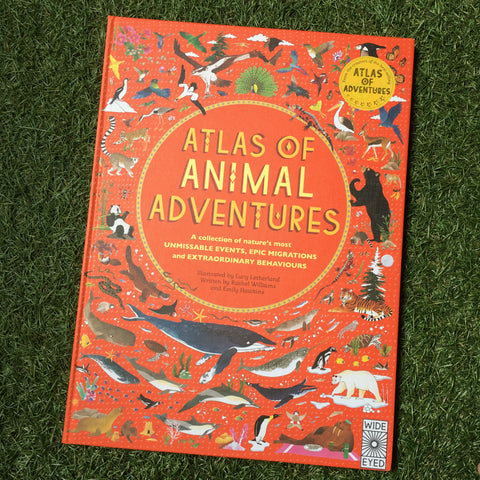 ATLAS OF ANIMAL ADVENTURES (Hardback)