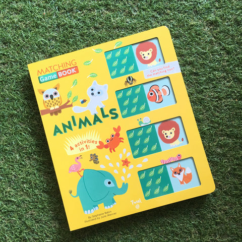 MATCHING GAMEBOOK: ANIMALS