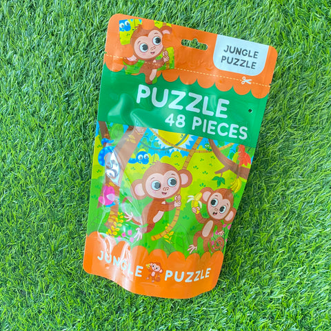 PUZZLE IN A BAG 48PCS: JUNGLE