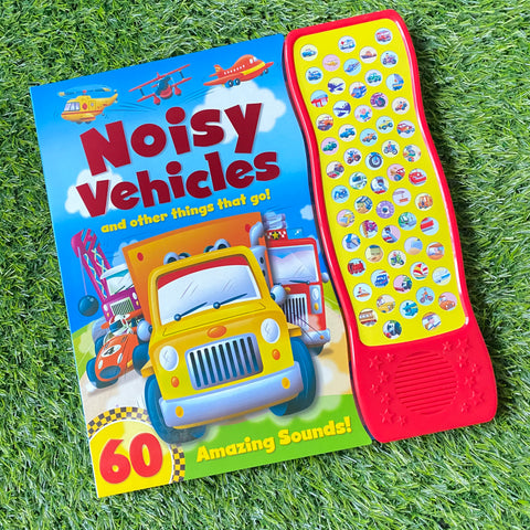 NOISY VEHICLES AND OTHER THINGS THAT GO! (60 AMAZING SOUNDS)