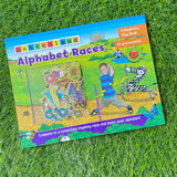 LETTERLAND: ALPHABET RACES (MAGNETIC PLAY BOOK)