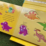 LET'S READ, PLAY AND LEARN: DINOSAURS