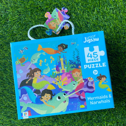 JUNIOR JIGSAW: MERMAIDS & NARWHALS