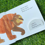 BROWN BEAR, BROWN BEAR, WHAT DO YOU SEE? (A LIFT-THE-FLAP BOOK)