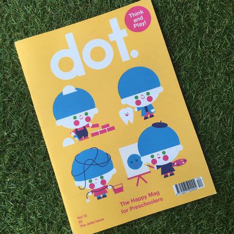 DOT MAGAZINE VOL. 12 - THE JOBS ISSUE