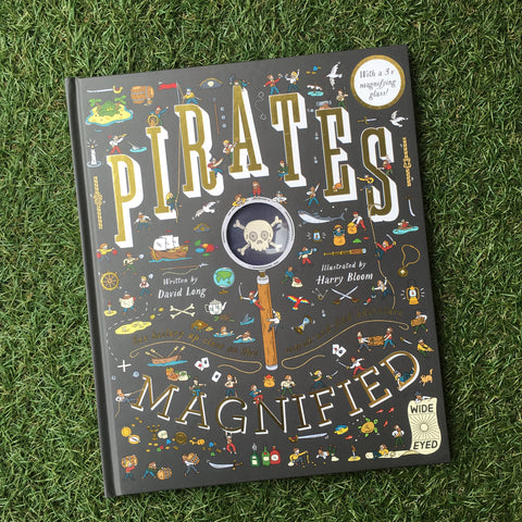 PIRATES MAGNIFIED (with a 3X magnifying glass)