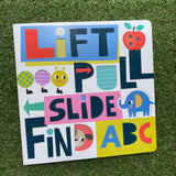 LIFT, PULL, SLIDE FIND ABC
