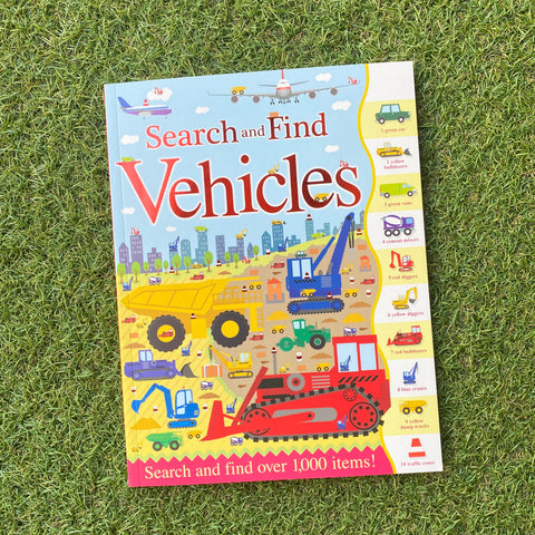 SEARCH AND FIND: VEHICLES