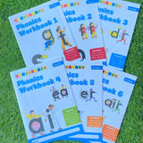 LETTERLAND: PHONICS WORKBOOK 1-6