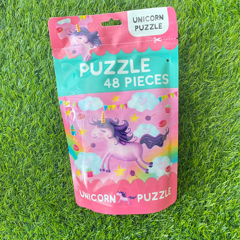 PUZZLE IN A BAG 48PCS: UNICORN
