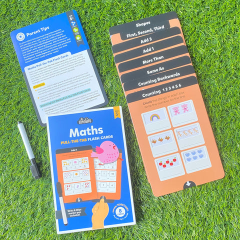 JUNIOR EXPLORERS: PULL AND LEARN FLASHCARDS MATHS