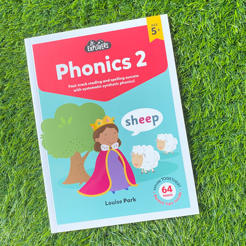 JUNIOR EXPLORERS: PHONICS STAGE 2