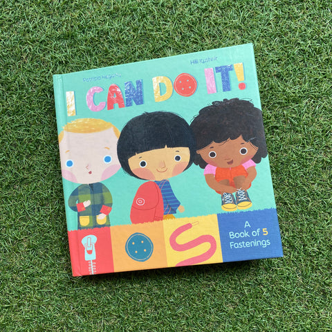 I CAN DO IT: A BOOK OF FASTENINGS