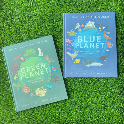 COLOURS OF THE WORLD: GREEN PLANET & BLUE PLANET BUNDLE