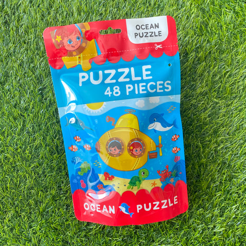 PUZZLE IN A BAG 48PCS: OCEAN
