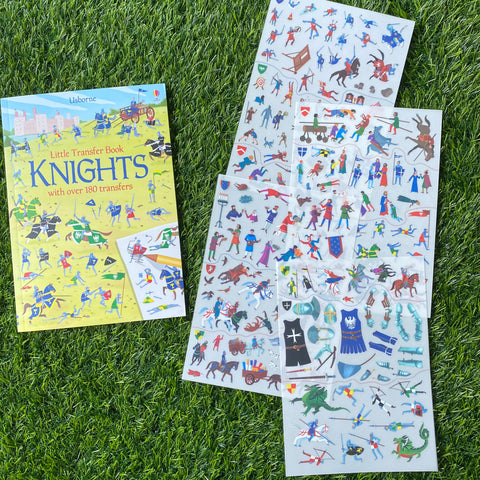 LITTLE TRANSFER BOOK: KNIGHTS