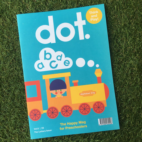 DOT MAGAZINE VOL.6 - THE LETTERS ISSUE