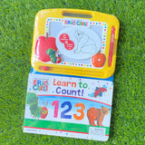LEARNING SERIES: IN THE WORLD OF ERIC CARLE - LEARN TO COUNT
