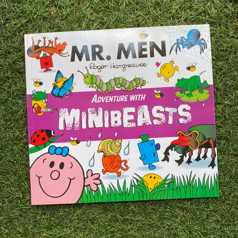 MR. MEN: ADVENTURE WITH MINIBEASTS (paperback)