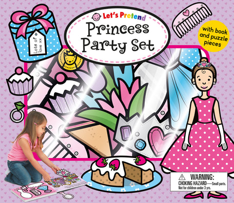LET'S PRETEND: PRINCESS PARTY SET