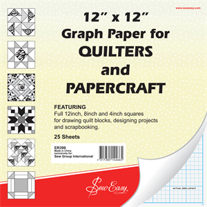 12in Square Graph Paper Pad