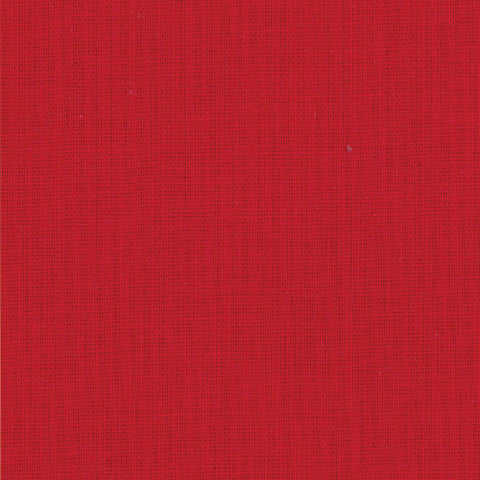 Moda Bella Solids Quilt Fabric - Christmas Red