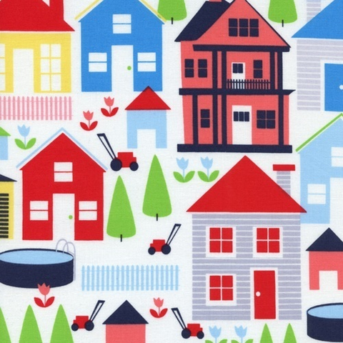 SALE! Houses Fabric