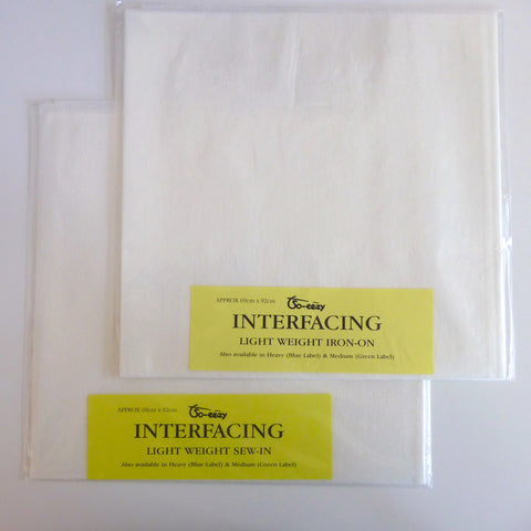 Light Weight Interfacing