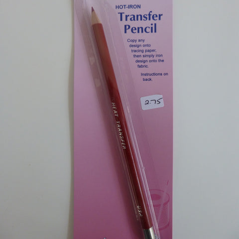 Hot Iron Transfer Pencil