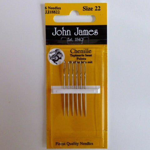 Hand Sewing Needles - Chenille 22