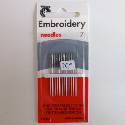 Hand Sewing Needles - Embroidery 7