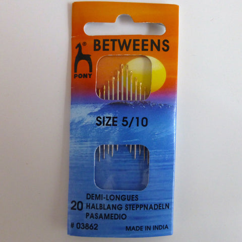 Hand Sewing Needles - Betweens 5/10