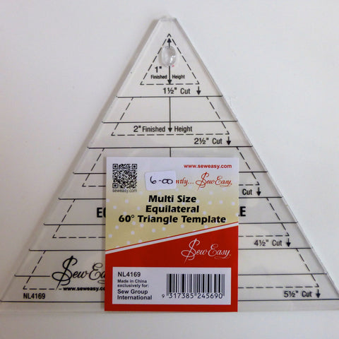 Triangle Acrylic Ruler