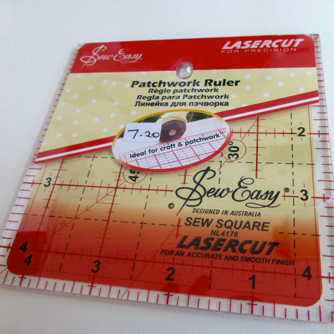 4 1/2in Square Acrylic Ruler