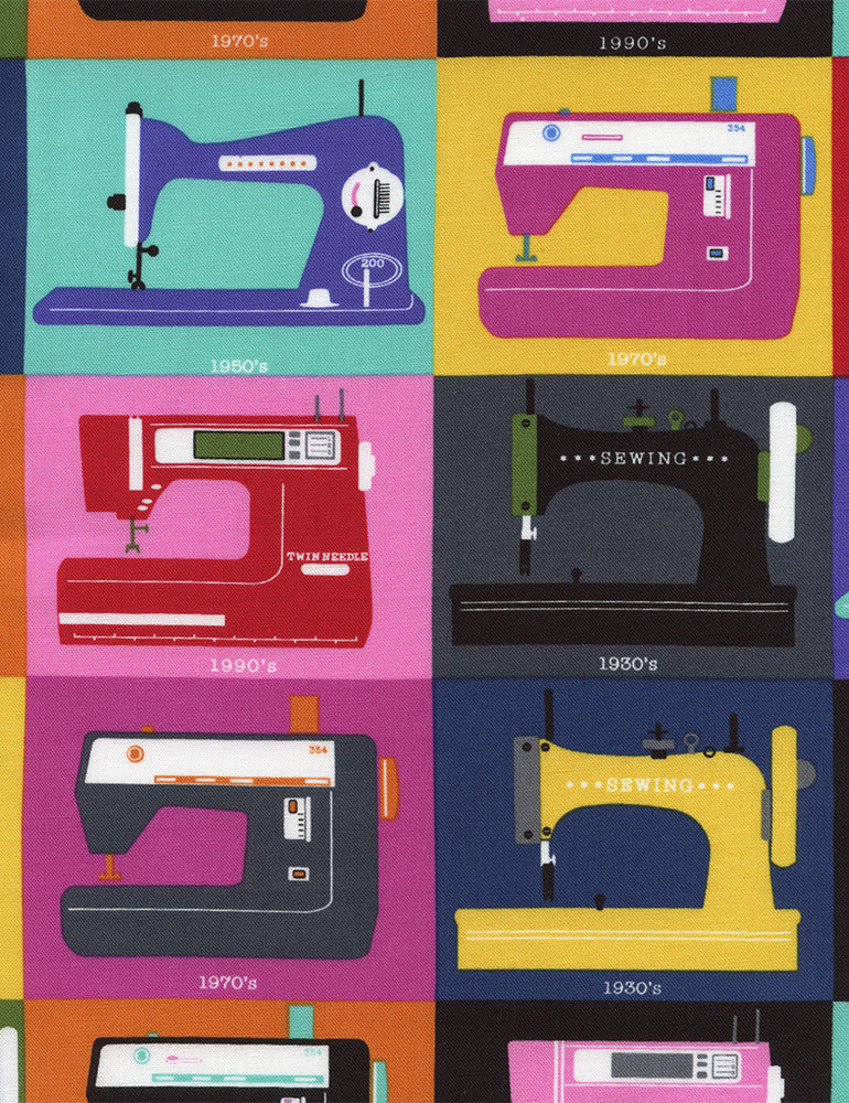 Retro Sewing Machines