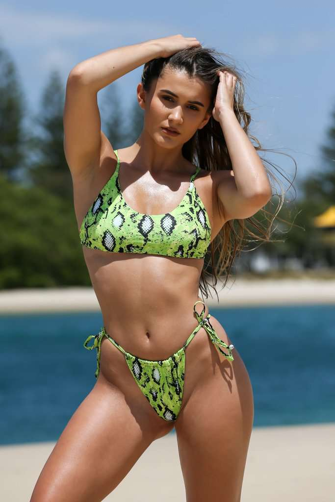 GALAPAGOS TOP / NEON GREEN - Kindini