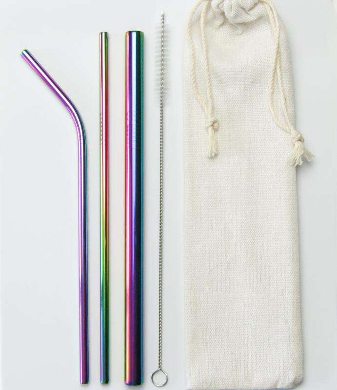 METAL STRAWS SET - Kindini