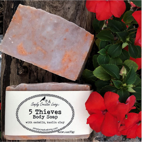 5 Thieves Hand & Body Soap Bar