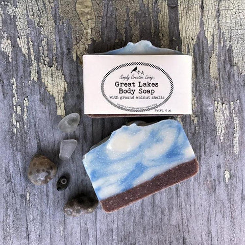 Michigan Great Lakes Body Soap