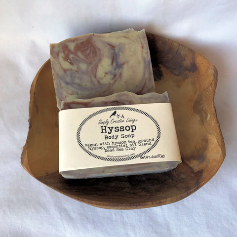 Hyssop Body Soap - Vegan